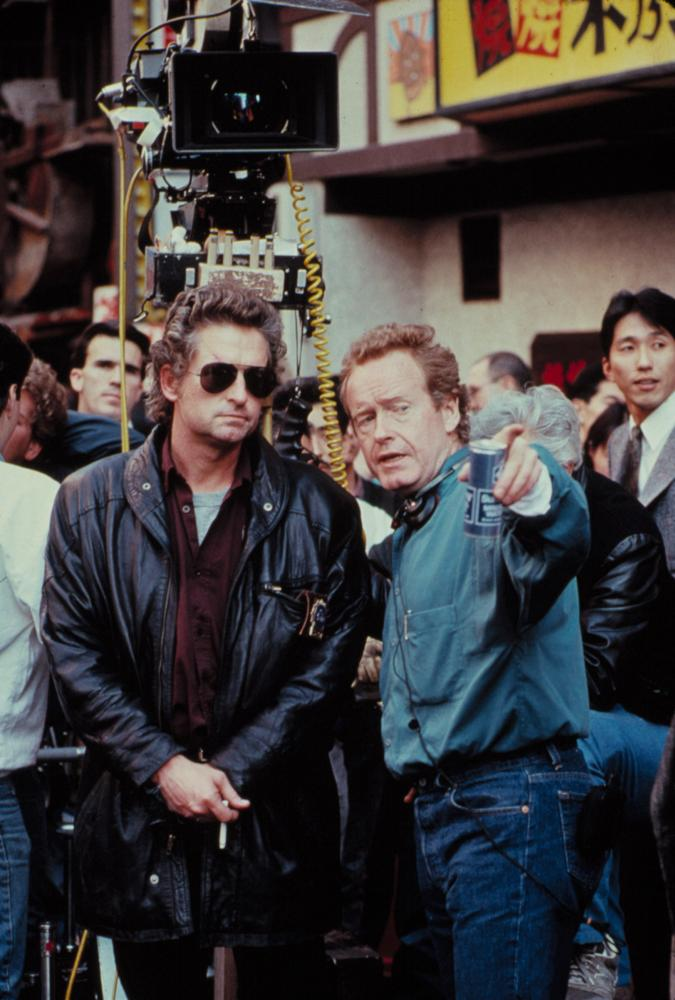 BLACK RAIN, Michael Douglas, director Ridley Scott, 1989