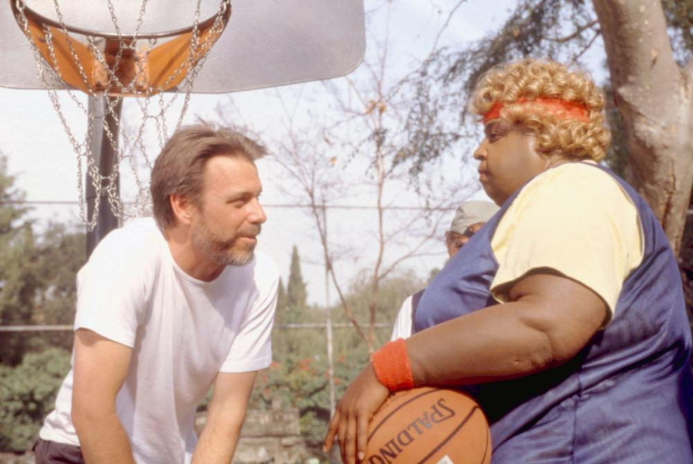 BIG MOMMA'S HOUSE, director Raja Gosnell, Martin Lawrence, on set, 2000, TM and Copyright ©20th Century Fox Film Corp. All rights reserved.