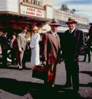 BILLY BATHGATE, (l-r): John Costelloe, Billy Jaye, Loren Dean, Nicole Kidman, Dustin Hoffman, Steven Hill, Steve Buscemi, 1991. ©Buena Vista Pictures
