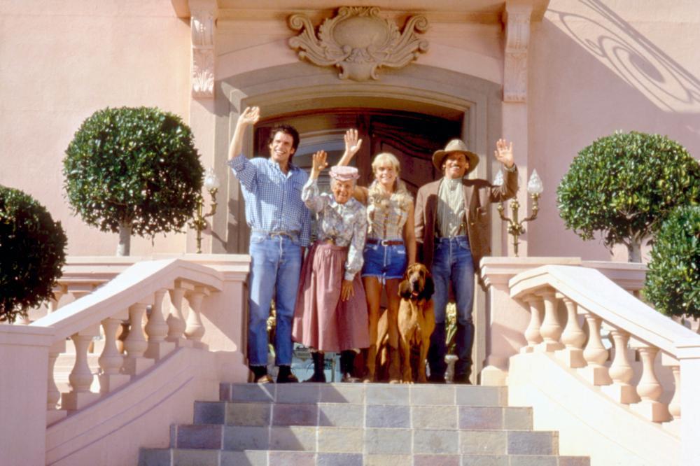 THE BEVERLY HILLBILLIES, Diedrich Bader, Cloris Leachman, Erika Eleniak, Jim Varney, 1993. TM and Copyright (c)20th Century Fox Film Corp. All rights reserved