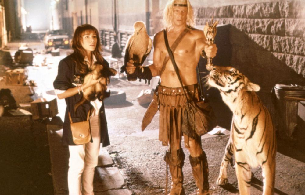BEASTMASTER 2: THROUGH THE PORTAL OF TIME, Kari Wuhrer, Marc Singer, 1991, (c)New Line Cinema