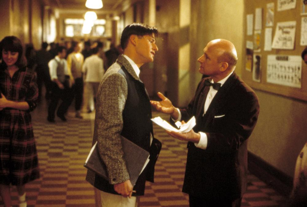 BACK TO THE FUTURE, Crispin Glover, James Tolkan, 1985. (c) MCA/Universal Pictures -.