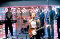BACK TO SCHOOL, Oingo Boingo (Danny Elfman, center), 1986, © Orion Pictures