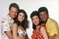 BACK TO THE BEACH, Tommy Hinkley, Lori Loughlin, Annette Funicello, Frankie Avalon, 1987, (c)Paramount