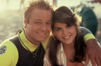 BACK TO THE BEACH, Tommy Hinkley, Lori Loughlin, 1987, (c)Paramount