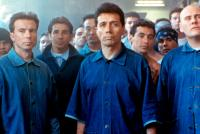AMERICAN ME, Daniel A. Haro, Pepe Serna, Cary Hiroyuki Tagawa, Edward James Olmos, Vic Trevino, Domingo Ambriz, William Forsythe, 1992, (c)Universal Pictures