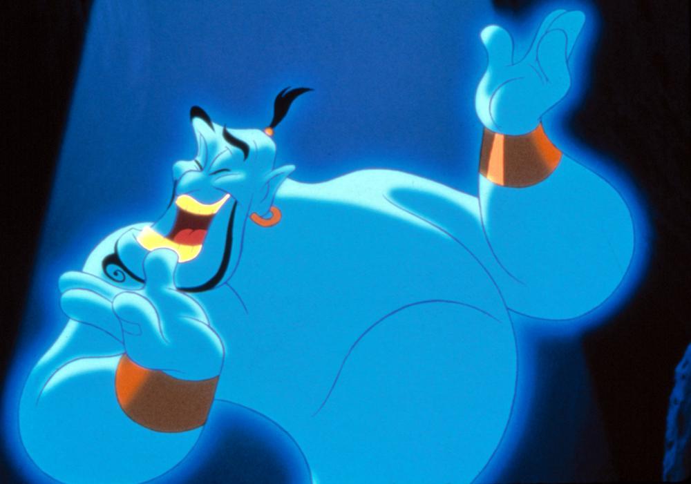 ALADDIN, Genie, 1992. (c) Walt Disney.
