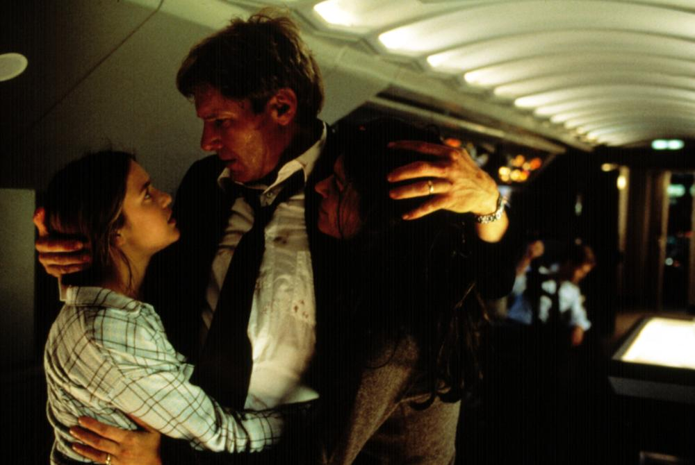 AIR FORCE ONE, Liesel Matthews, Harrison Ford, Wendy Crewson, 1997