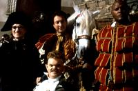 THE ADVENTURES OF BARON MUNCHAUSEN, Charles McKeown, Jack Purvis, Eric Idle, Winston Dennis, 1988