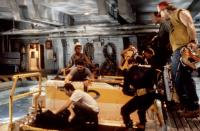 THE ABYSS, Todd Graff, Michael Biehn, Kimberly Scott, Ed Harris (second from right), Leo Burmester, 1989, TM and Copyright (c)20th Century Fox Film Corp. All rights reserved.