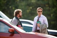 DUE DATE, from left: Zach Galifianakis, Robert Downey Jr., 2010, Ph: Melinda Sue Gordon, © Warner Brothers