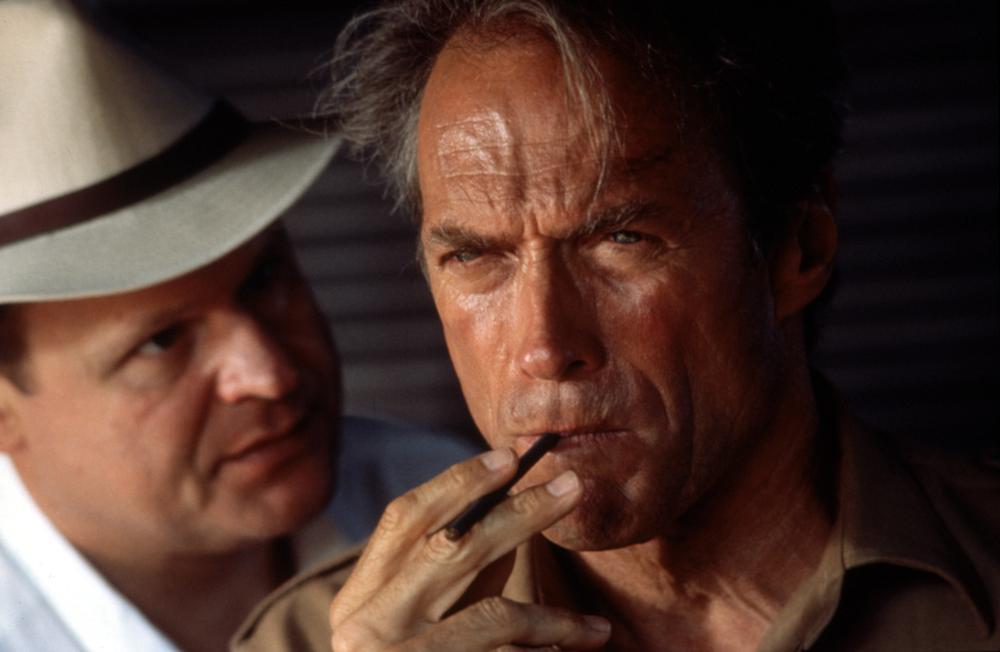 WHITE HUNTER BLACK HEART, George Dzundza, Clint Eastwood, 1990, (c)Warner Bros
