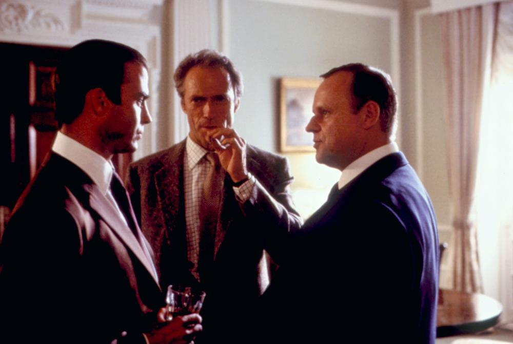 WHITE HUNTER BLACK HEART, Jeff Fahey, Clint Eastwood, George Dzundza, 1990. ©Warner Bros