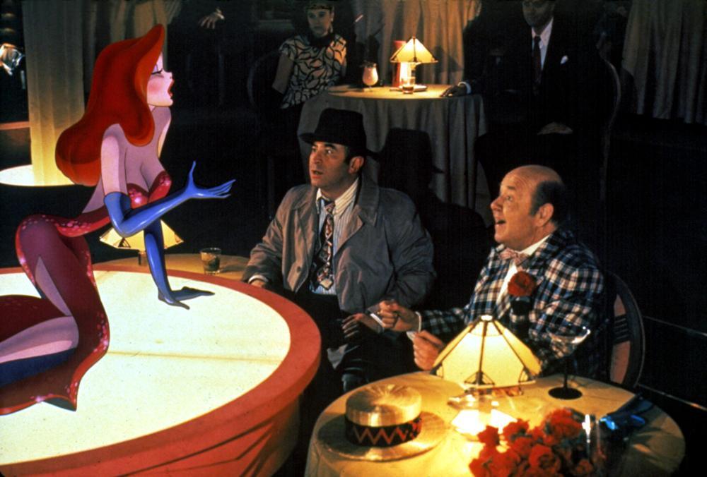 who framed roger rabbit jessica rabbit bob hoskins stubby kaye 1988