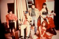 TIE ME UP TIE ME DOWN, (l-r): Loles Leon, Francisco Rabal, Antonio Banderas, Victoria Abril, Rossy De Palma, 1990, (c)Miramax