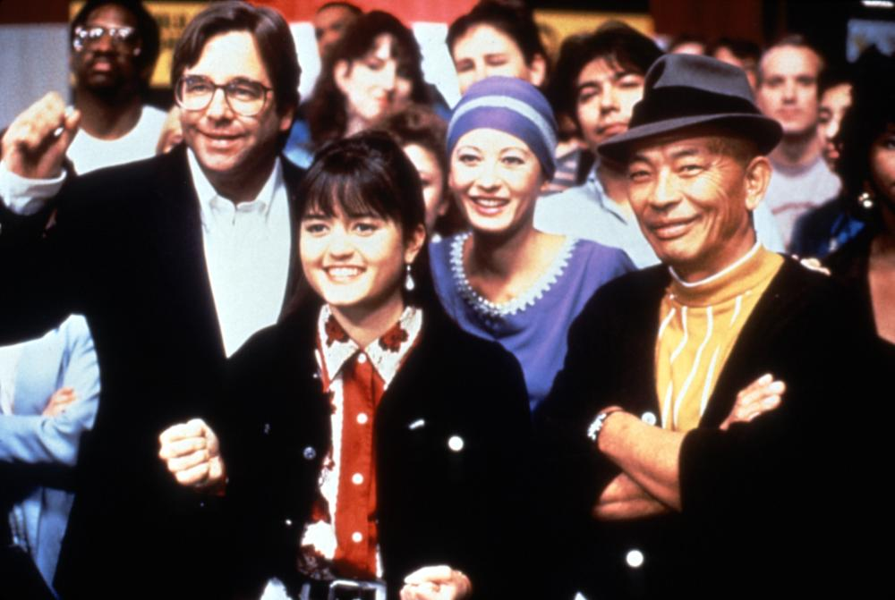 SIDEKICKS, Beau Bridges, Danica McKellar, Mako, 1992, (c)Triumph Releasing Corporation