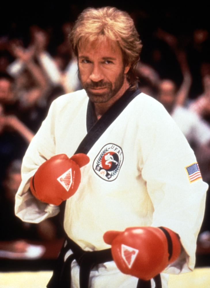 SIDEKICKS, Chuck Norris, 1992, (c)Triumph Releasing Corporation