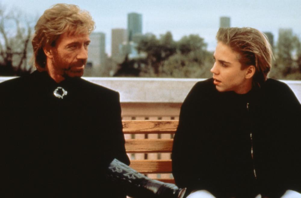 SIDEKICKS, Chuck Norris, Jonathan Brandis, 1992, (c)Triumph Releasing
