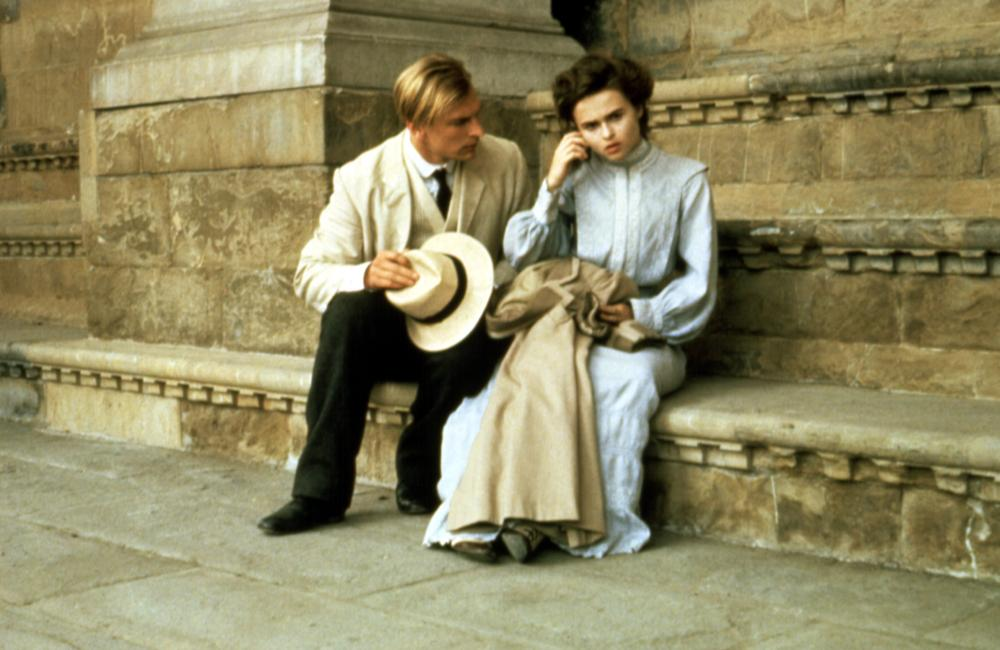 A ROOM WITH A VIEW, Julian Sands, Helena Bonham Carter, 1985. (c) Cinecom International