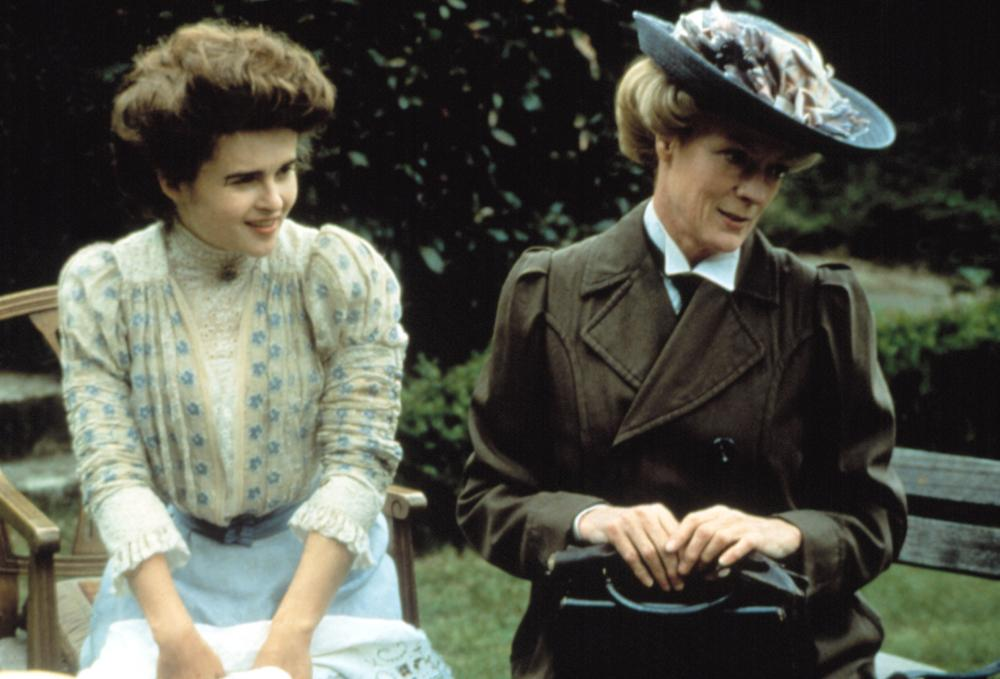 A ROOM WITH A VIEW, Helena Bonham Carter, Maggie Smith, 1985. (c) Cinecom International