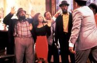 RAGE IN HARLEM, A, Ron Taylor, Robin Givens, Gregory Hines, Badja Djola, 1991, (c)Miramax Films
