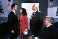 NAKED GUN 2 1/2: THE SMELL OF FEAR, Robert Goulet, Priscilla Presley, Leslie Nielsen, Richard Griffiths, 1991, (c)Paramount Pictures