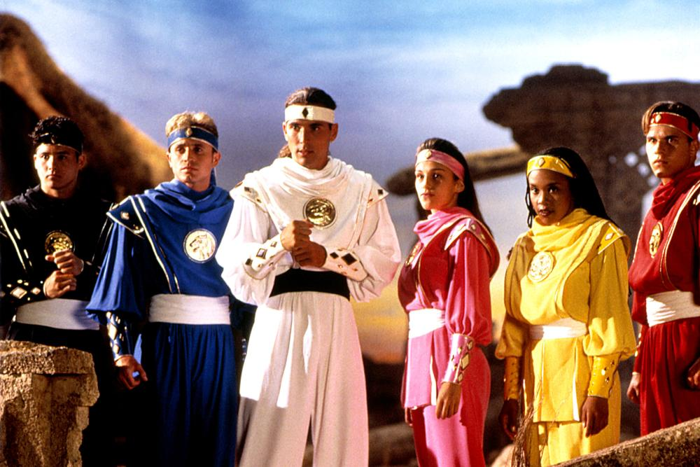 MIGHTY MORPHIN POWER RANGERS:  THE MOVIE, Johnny Yong Bosch, David Yost, Jason David Frank, Amy Jo Johnson, Karan Ashley, Steve Cardenas, 1995