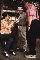 THE LONGSHOT, from left: Jorge Cervera Jr., Tim Conway, Harvey Korman, 1986, © Orion