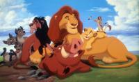 LION KING, Banzai, Ed, Shenzi, Scar, Pumbaa, Mufasa, Simba, Timon, 1994