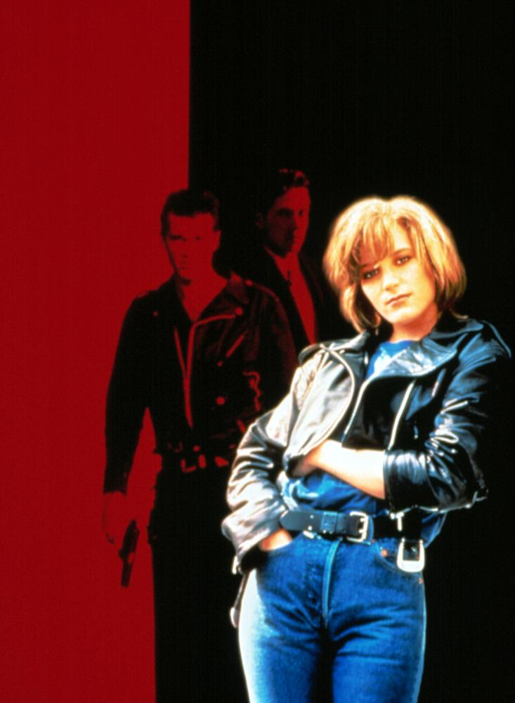 LEATHER JACKETS, Cary Elwes, D.B. Sweeney, Bridget Fonda, 1992