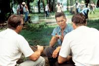 JFK, Kevin Costner, Kevin Bacon, Jay O. Sanders, 1991. (c) Warner Bros