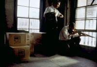 JFK, Kevin Costner, Jay O. Sanders, 1991. ©Warner Bros