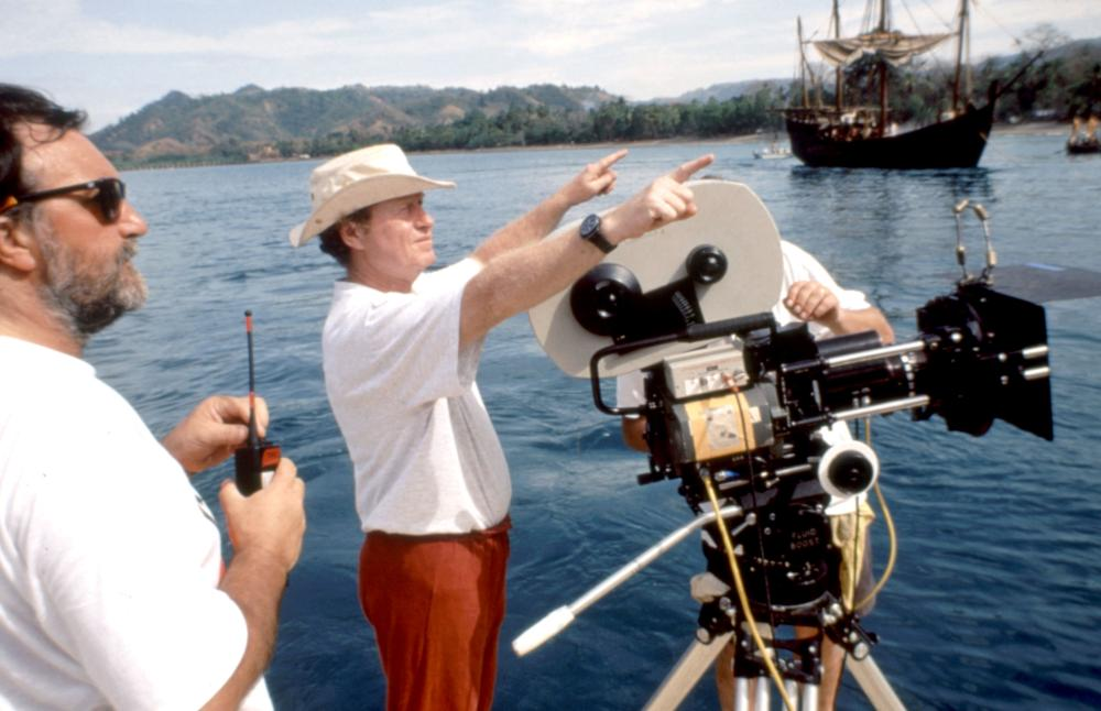1492: CONQUEST OF PARADISE, director Ridley Scott (c). on set, 1992, (c)Paramount