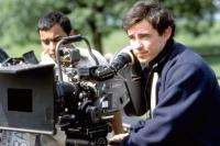 FAIRY TALE: A TRUE STORY, director Charles Sturridge (right), on set, 1997. (c) Paramount