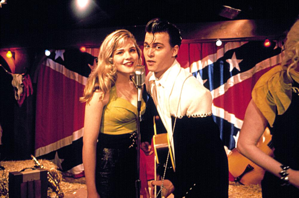 CRY-BABY, Amy Locane, Johnny Depp, 1990. (c) Universal Pictures