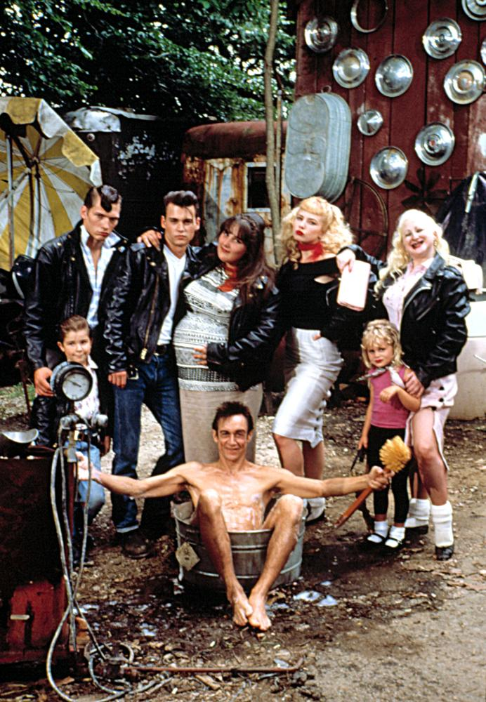 CRY-BABY, Darren E. Burrows, Johnny Depp, Ricki Lake, Traci Lords, Kim McGuire, 1990. (c) Universal Pictures