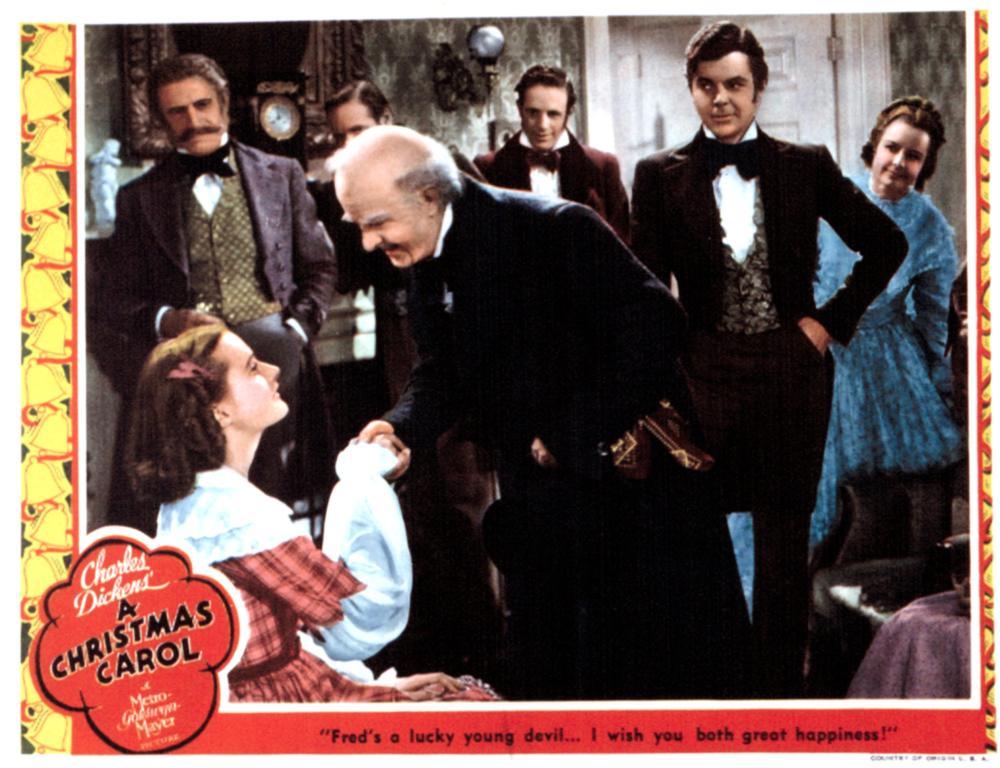a christmas carol reginald owen 1938 - A Christmas Carol Movie 1938