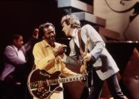 CHUCK BERRY HAIL! HAIL! ROCK 'N' ROLL, Chuck Berry, Keith Richards, 1987. (c) Universal Pictures