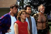 THE BURBS, Rick Ducommun, Corey Feldman, Tom Hanks, Bruce Dern, 1989
