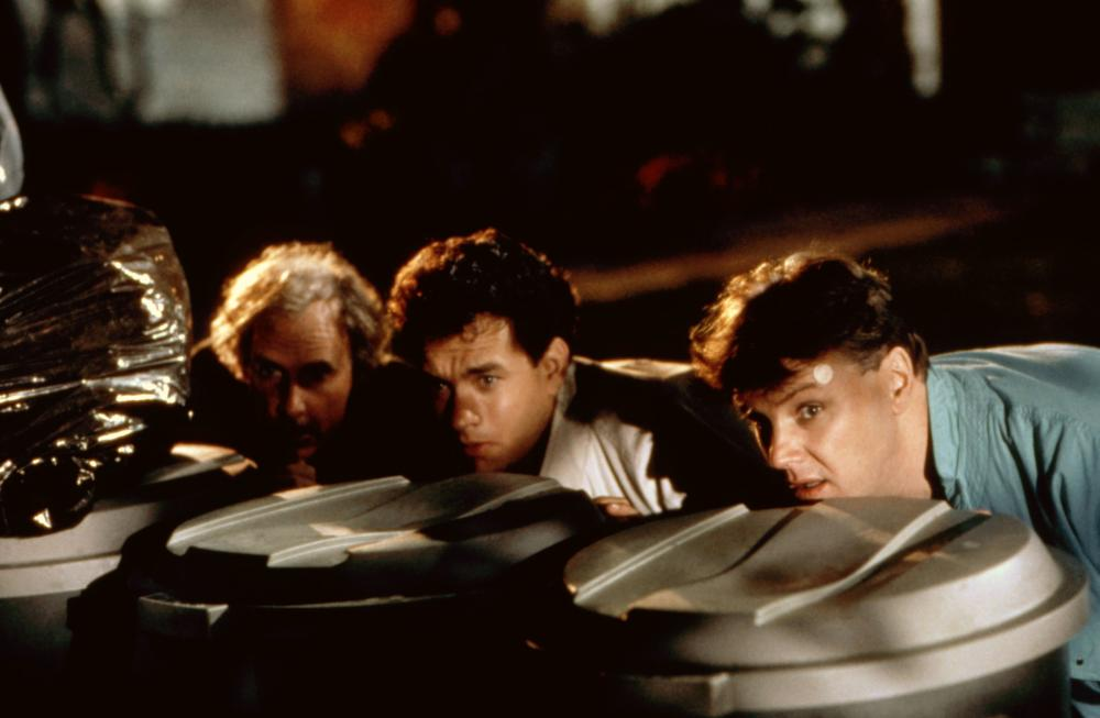 THE BURBS, Bruce Dern, Tom Hanks, Rick Ducommun, 1989, (c)Universal