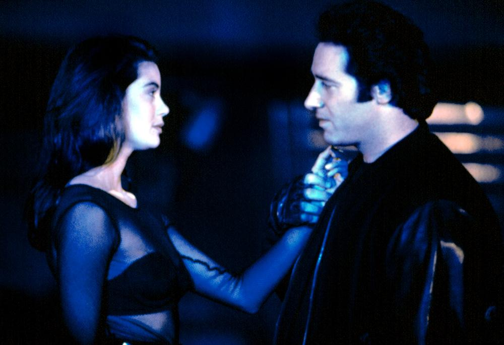 BRAIN SMASHER, Teri Hatcher, Andrew Dice Clay, 1993, © Trimark Pictures