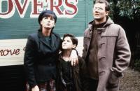 THE BORROWERS, from left: Doon Mackichan, Bradley Pierce, Aden Gillett, 1997, © Polygram Filmed Entertainment