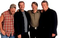 BLUE COLLAR COMEDY TOUR, Larry the Cable Guy, Bill Engvall, Jeff Foxworthy, Ron White, 2003, (c) Warner Brothers