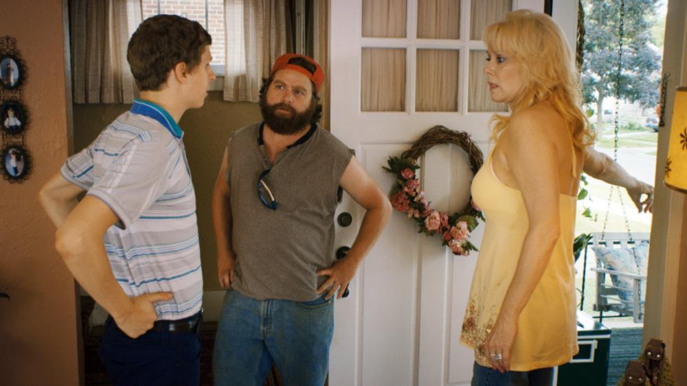 YOUTH IN REVOLT, from left: Michael Cera, Zach Galifianakis, Jean Smart, 2009. ©Weinstein Company