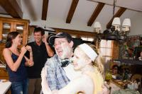 YOU AGAIN, from left: Odette Yustman, Cinematographer David Hennings, director  Andy Fickman, Kristen Bell, on set, 2010. ph: Mark Fellman/©Touchstone Pictures