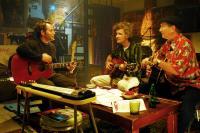 WONDERFUL WORLD, from left: Matthew Broderick, Dan Zanes, James Burton, 2009. ©Magnolia Pictures
