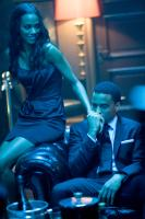 TAKERS, from left: Zoe Saldana, Michael Ealy, 2010. ph:Suzanne Tenner/©Screen Gems