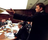 SUM OF ALL FEARS, Ben Affleck, Morgan Freeman, Ken Jenkins, John Beasley, Philip Baker Hall, James Cromwell, Ron Rifkin, Bruce McGill, 2002 (c) Paramount