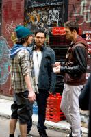 STEP UP 3D, from left: Adam G. Sevani, director Jon Chu, Rick Malambri, on set, 2010./©Walt Disney Studios Motion Pictures