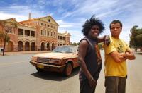 STONE BROS., from left: Leon Burchill, Luke Carroll, 2009. Ph: Megan Lewis/©Australian Film Syndicate